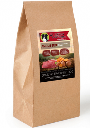 Grain Free Working Dog Food Co. Angus Beef With Sweet Potato & Carrot